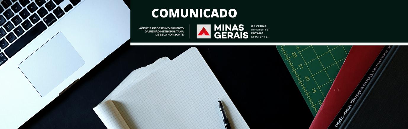 COMUNICADO DO SETOR DE REGULAÇÃO METROPOLITANA