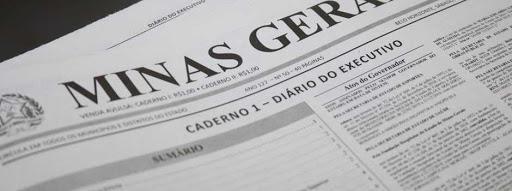 Primeira edição exclusiva do Diário Oficial dos Municípios Mineiros publicada no DOMG-e desta terça-feira (11/5)
